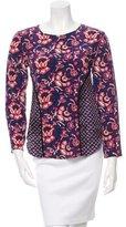 Veronica Beard Silk Floral Print Blouse w/ Tags