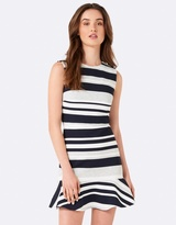 Forever New Yasmin Flippy Stripe Day Dress