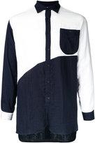 Factotum contrast shirt - men - Cotton - 44