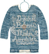 Beautees Long Sleeve Layered Top - Big Kid Girls