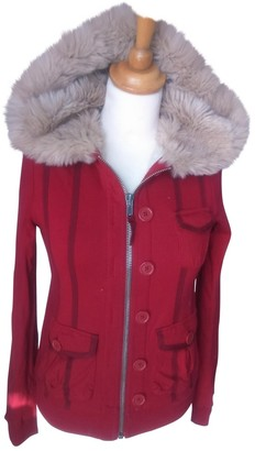 Marc Jacobs Red Cotton Jacket for Women