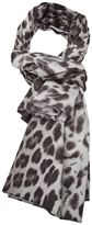 Barbara Bui leopard print scarf