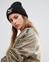 Puma Black Knitted Beanie Hat