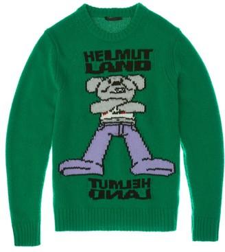 Helmut Lang Helmutland Crew Wool Sweater