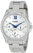 Pulsar Women's PP6099 Analog Display Japanese Quartz Silver Watch