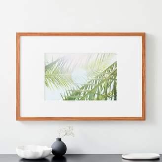 west elm Simply Framed Oversized Gallery Frame - Light Walnut