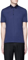 Lanvin Ribbon collar polo shirt