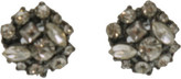 The Two Mrs Grenvilles Multi Stone Stud Earrings