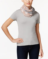INC International Concepts Patchwork Loop Scarf, Created for Macy's