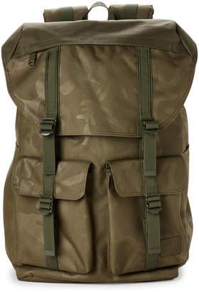 Herschel Olive Buckingham Camo Laptop Backpack