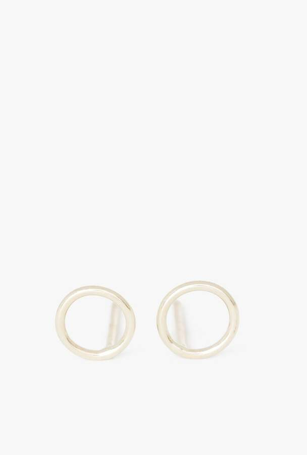 Ariel Gordon Circle Silhouette Earrings