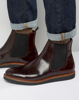 House Of Hounds Chelsea Boots With Brogue Detail
