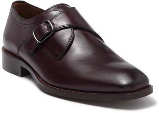Johnston & Murphy Everett Single Buckle Monk Strap Shoe