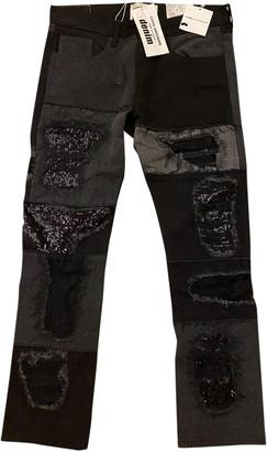 Junya Watanabe Black Denim - Jeans Jeans