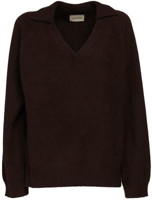 LOULOU STUDIO Sperone Wool Blend Knit Sweater