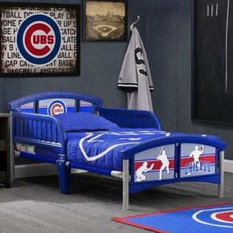 Delta Children MLB Chicago Cubs Convertible Toddler Bed