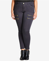 City Chic Trendy Plus Size Commando Skinny Pants