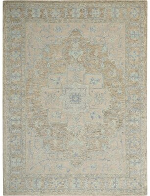 Medallion Tufted Wool Rug Shop The World S Largest Collection Of Fashion Shopstyle