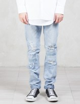 Stampd Repaired 5 Pocket Denim