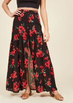 ModCloth Simply Vent to Be Maxi Skirt in S