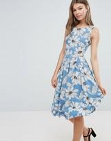 Sugarhill Boutique Daisy Print Skater Dress