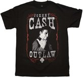 Zion Rootswear Johnny Cash Outlaw T-Shirt
