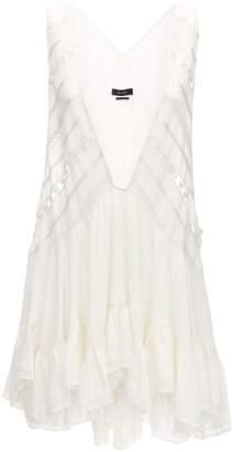 Isabel Marant V Neckline Viscose Mini Dress
