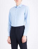Drakes Striped regular-fit cotton shirt