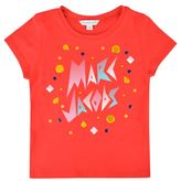 Marc Jacobs Infant Girls Gem Logo T Shirt