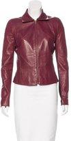 Derek Lam 10 Crosby Paneled Leather Jacket