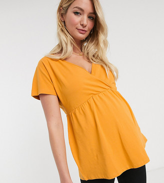 Mama Licious Mamalicious v neck blouse