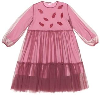 Il Gufo Tulle dress