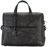 Saint Laurent Bold briefcase - men - Calf Leather - One Size