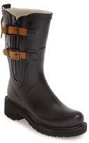 Ilse Jacobsen Women's Waterproof Buckle Detail Snow/rain Boot