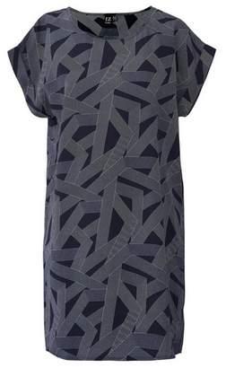 Dorothy Perkins Womens *Izabel London Navy Geo Print Shift Dress, Navy