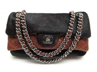 Chanel Timeless/Classique Multicolour Pony-style calfskin Handbags
