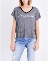 Wildfox Couture Thy Will Be Done jersey T-shirt