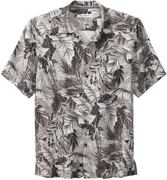 Tommy Bahama Shadow Toucan Silk Button-Front Shirt