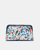 Ted Baker Paint splash large cosmetic bag