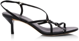 3.1 Phillip Lim Louise Leather Slingback Sandals