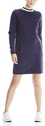 Bench Women's Sportive Sweatdress Dress, (Dark Navy Blue Ny009), Medium