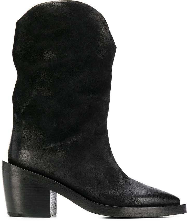 0334f7cd4ac cowboy style ankle boots