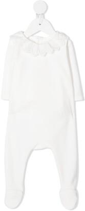 Chloé Kids Lace Ruffle Babygrow Pyjamas