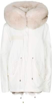 Mr & Mrs Italy Fox Fur-Lined Parka Jacket