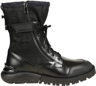 Christian Dior Combat High Top Boots
