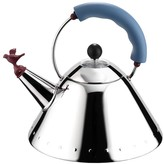 Alessi Bird Whistle Kettle - Blue