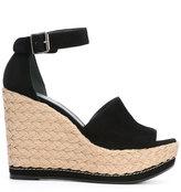 Stuart Weitzman wedge sandals - women - Leather/Suede/rubber - 38.5