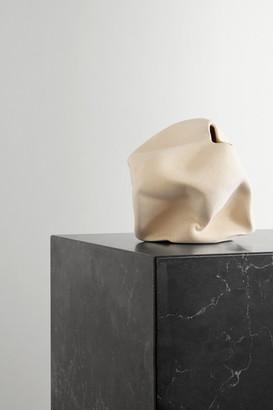 COMPLETEDWORKS + Ekaterina Bazhenova Yamasaki Goliath Ceramic Vase - Beige