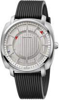 Calvin Klein Men's Swiss Highline Black Rubber Strap Watch 43mm K5M3X1D6