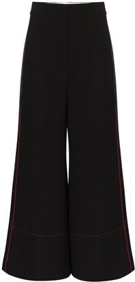 Roksanda Wide-Leg Cropped Trousers
